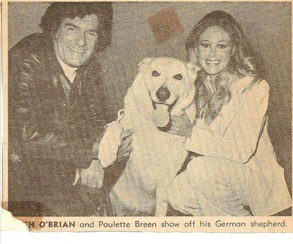 vips Hugh O'Brian e Paulette Breen
