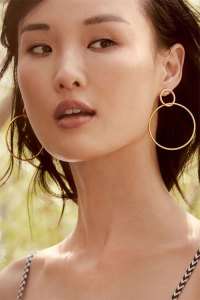 Big Earrings and Your Style - YLF