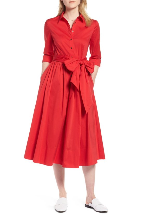 1901 Midi Shirtdress