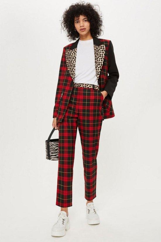 Topshop Tartan Suit