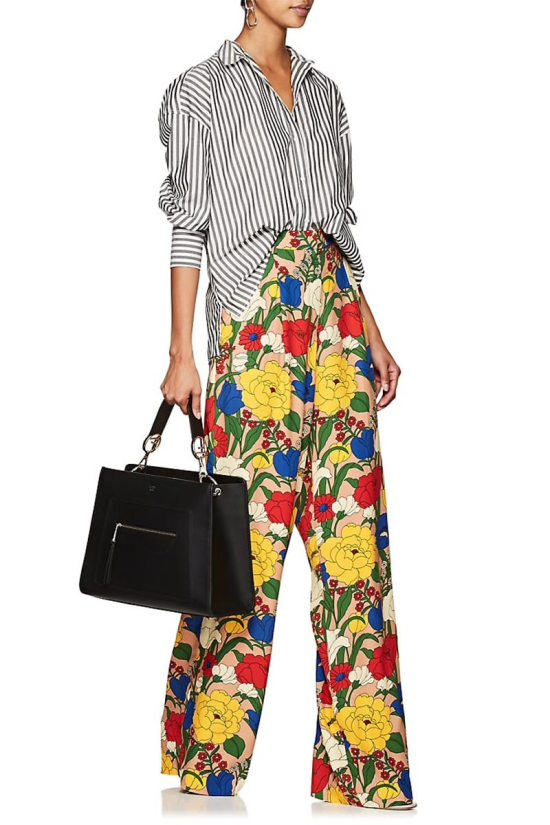 VIVETTA Henning Floral Trousers