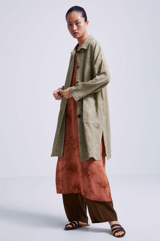 Zara Buttoned Shirt Dress