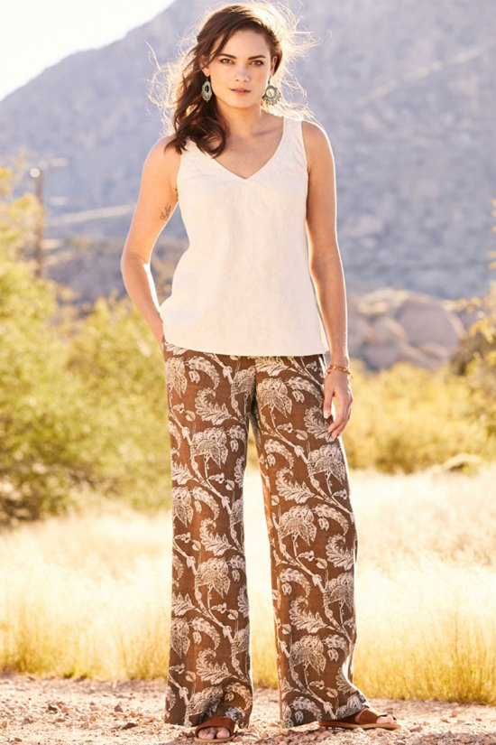 Peruvian Connection Sojourn Palazzo Pants