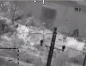 بالفيديو.. لحظة تدمير القوات المسلحة لمخزن العبوات الناسفة بالشيخ زويد