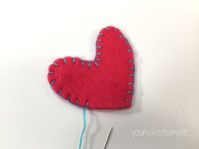 heart lollipops