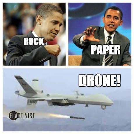 Rock Paper Drone
