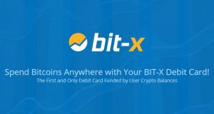 BIT-X Bitcoin Debit Card