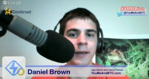 Daniel Brown on #YMBLive Bitcoin Headlines