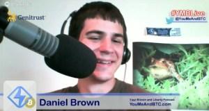Daniel on #YMBLive Bitcoin Headlines