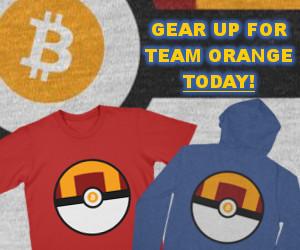 Team Orange Pokemon Gear