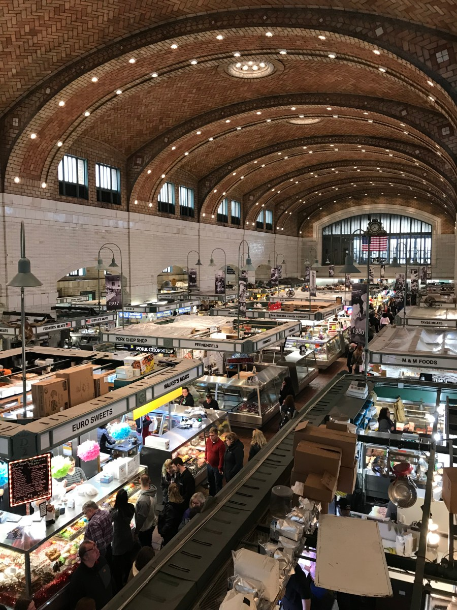 WEST SIDE MARKET IN CLEVELAND - You, Me, & Tennessee