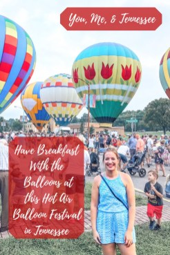 Have Breakfast with the Balloons at this Hot Air Balloon Festival in Tennessee