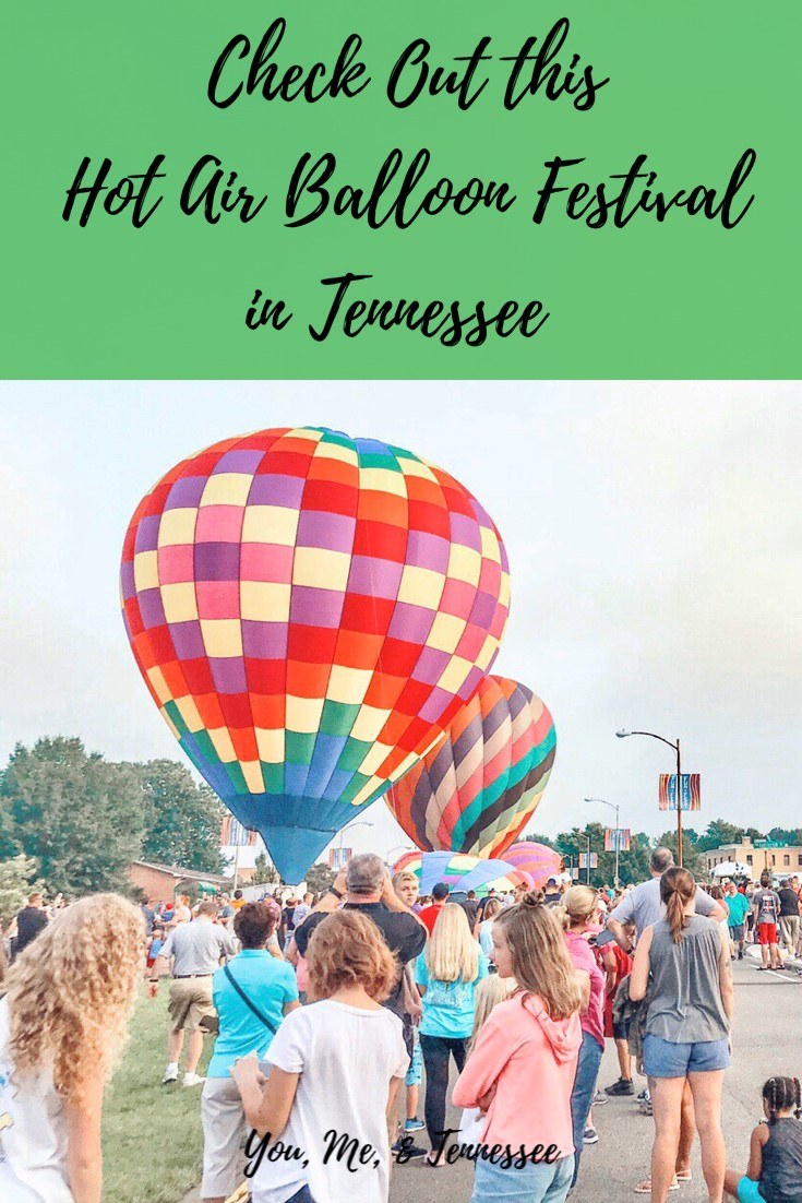Check Out this Hot Air Balloon Festival in Tennessee