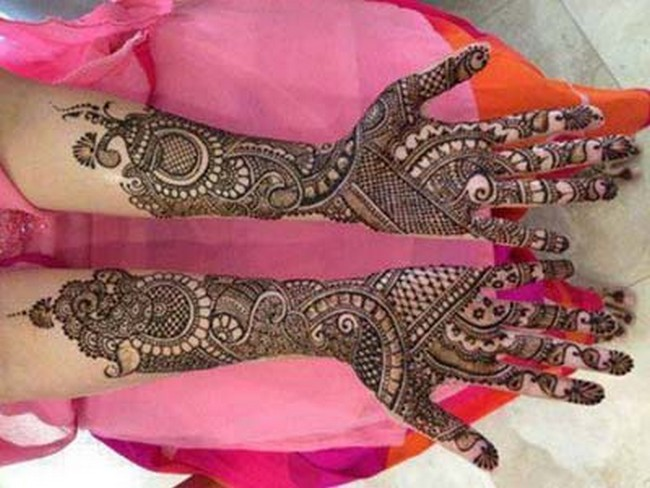Mehndi Bridal Mehndi Design : Top latest best beautiful bridal mehandi designs may