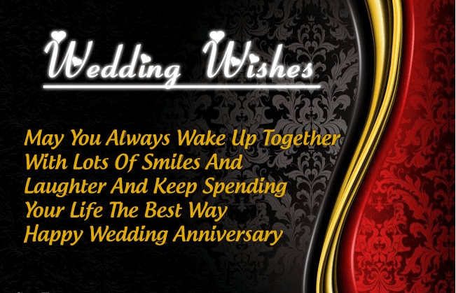 Wedding Anniversary Gift Message : ... Wedding Anniversary Wishes Images Photos Messages Quotes Gifts For