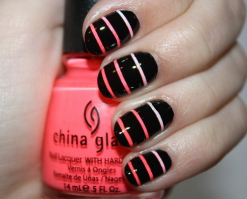 simple best nail art design