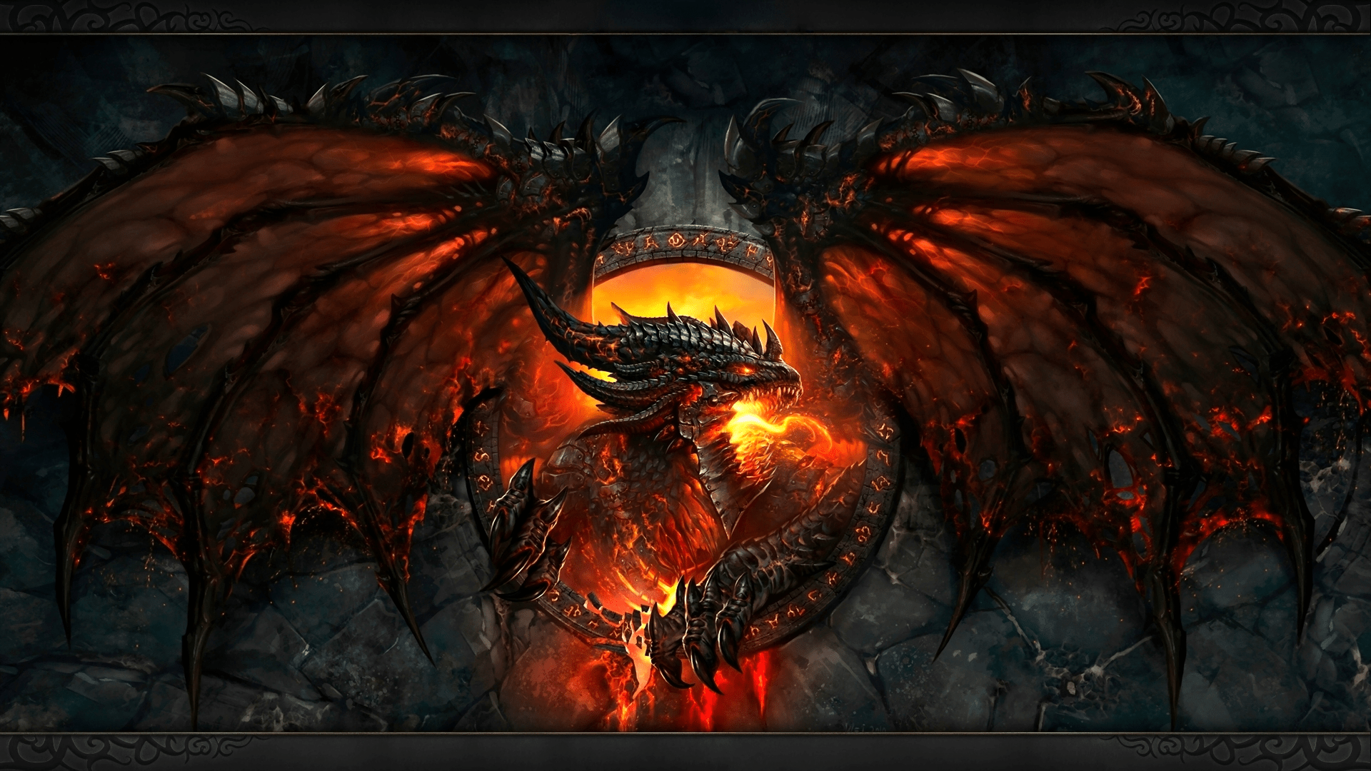 World Dragon Wallpaper