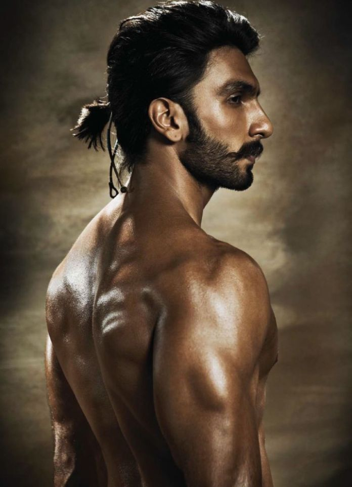 HAIRSTYLE MATCHING BEARD AND MUSTACHE RANVEER SINGH SEXY BEARD AND HAIRSTYLE HOT MUSTACHE SEXY BODY