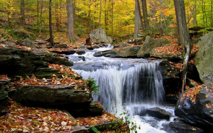Waterfall Nature HD Wallpaper For Laptop