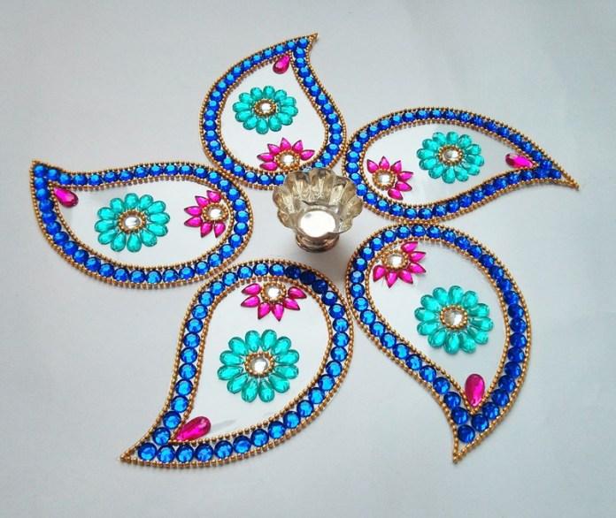 latest rangoli design