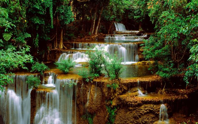 Waterfall Nature HD Wallpaper For Mobile