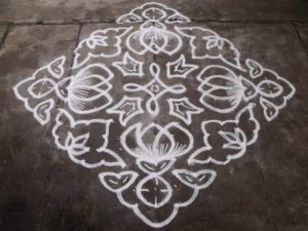 simple kolam deigns images