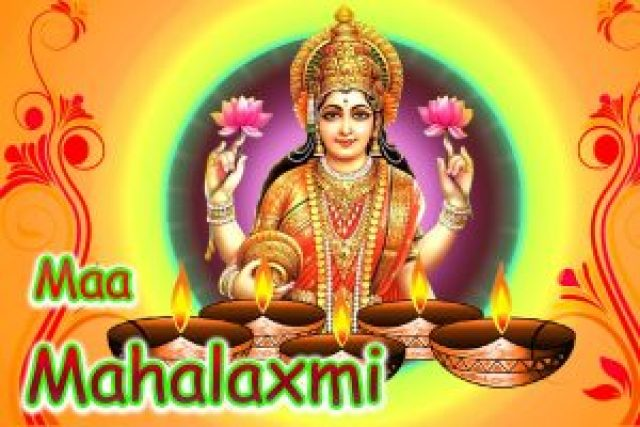 maha mata laxmi wallpaper