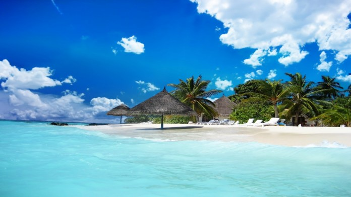 Beach HD Wallpaper For Iphone