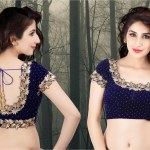25+ Latest Embellished Saree Blouse Designs & Patterns