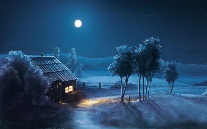 Cool Night HD Wallpaper For Desktop