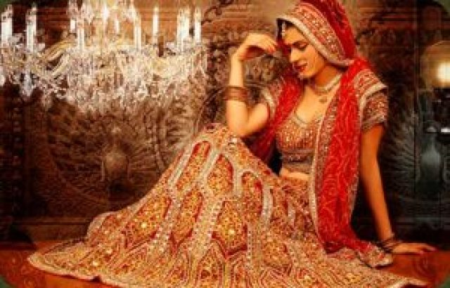 bridal lehanga on rent