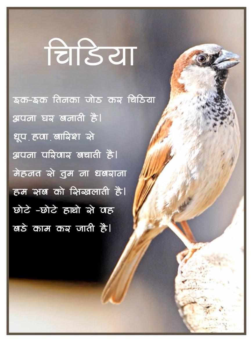 Atmiya Vidya Mandir: English and Hindi Poems by Students