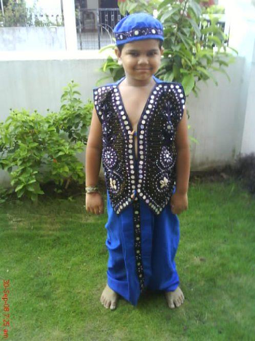 dandiya dress for kids