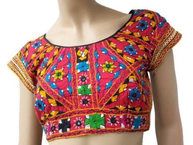 bujh embroidary designer blouse