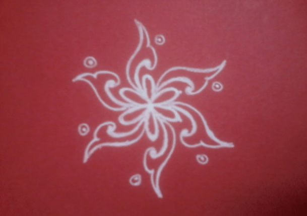 easy kolam designs