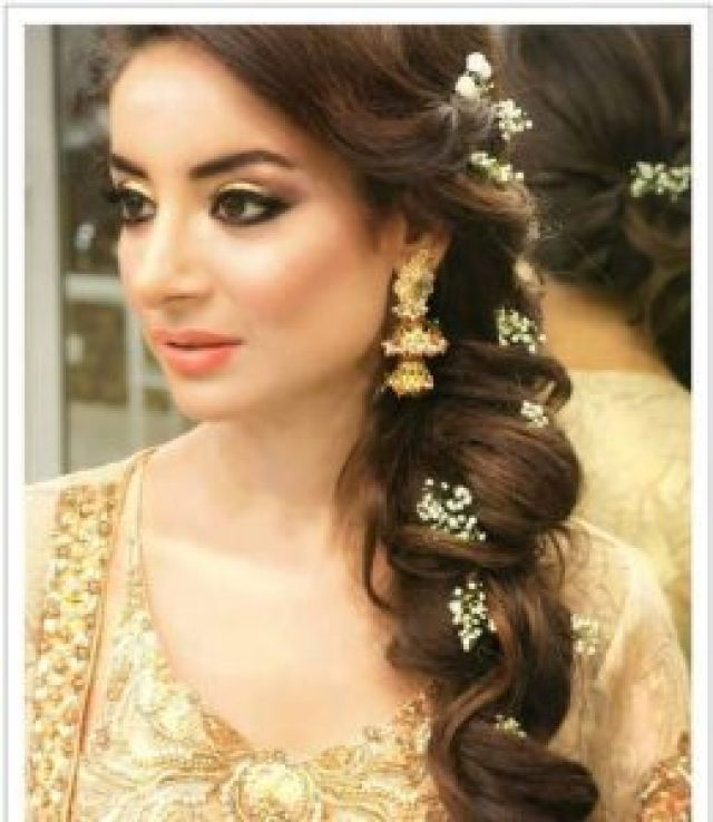 Easy Hairstyle For Salwar Suit : Top 30 most beautiful indian wedding bridal hairstyles for every