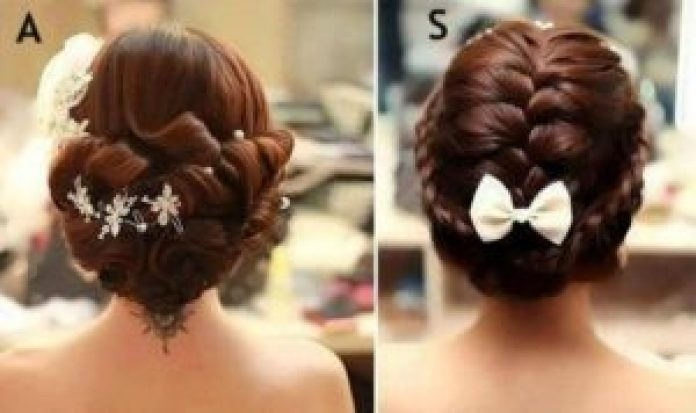 Latest Indian Bridal Wedding Hairstyle 2018