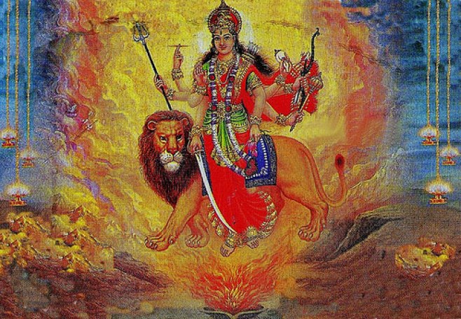 Maa Shakti as Maa Jwala Ji