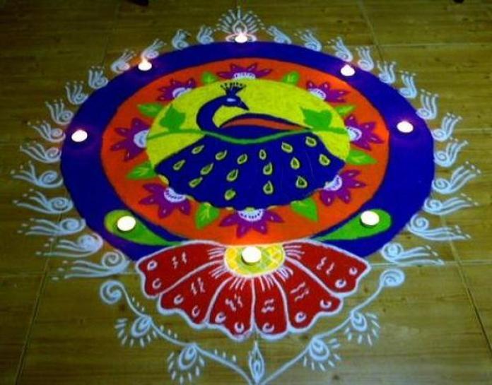 beautiful ramgoli design