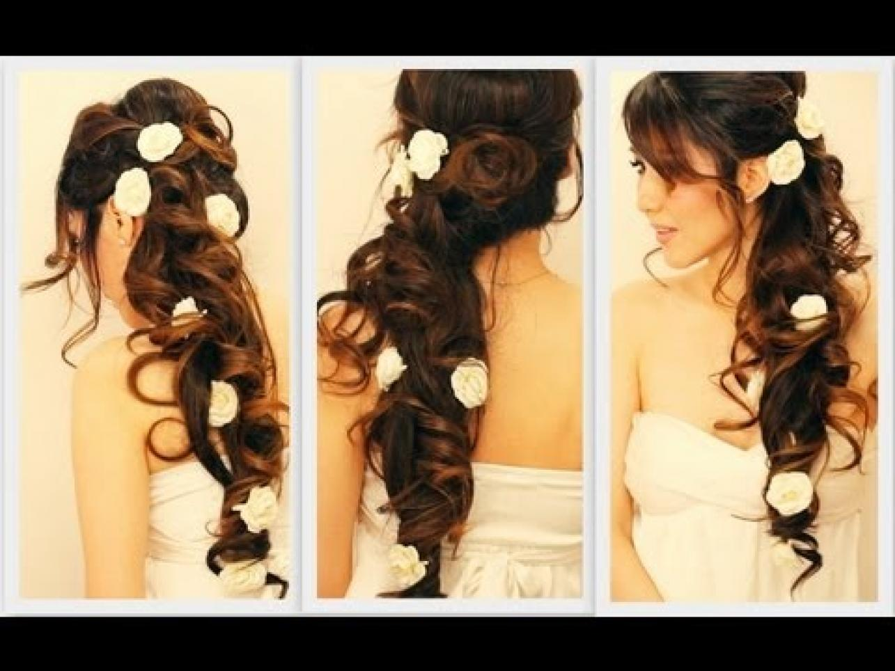Awesome Top 30 Most Beautiful Indian Wedding Bridal Hairstyles For Every Short Hairstyles For Black Women Fulllsitofus