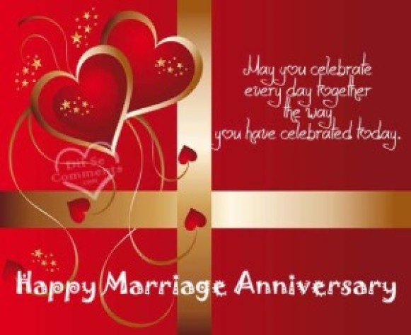 marriage anniversary greeting card