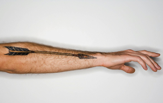Arrow Tattoo Designs On Hand For Men