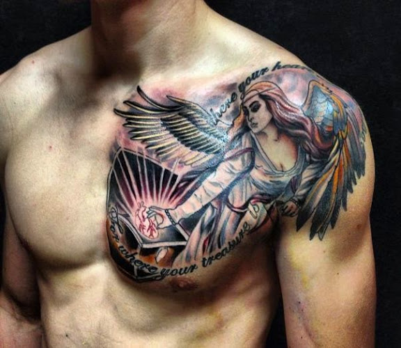 Tattoo On Chest For Men