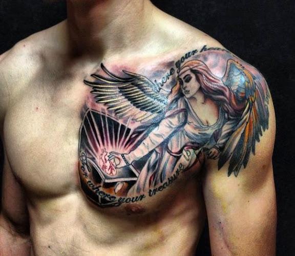 Tattoo On Chest For Men