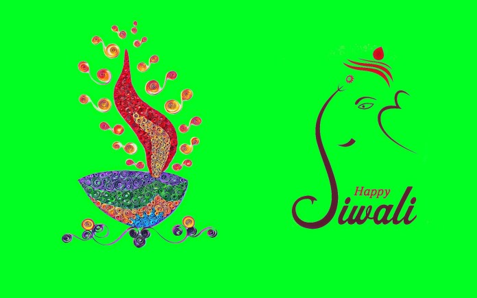 creative happy diwali wallpaper