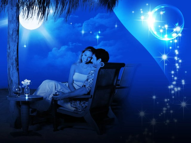 love couple night images