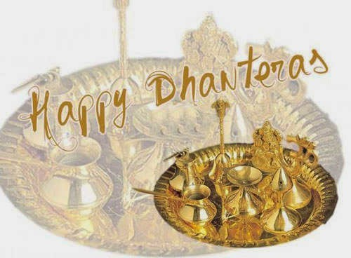 happy dhanteras puja pics