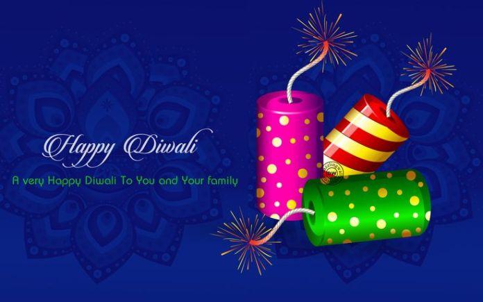happy diwali hd images crackers wallpaper