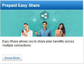prepaid-easy-share idea -mobile internet transfer mobile data transfer