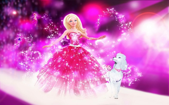 barbie animated photos